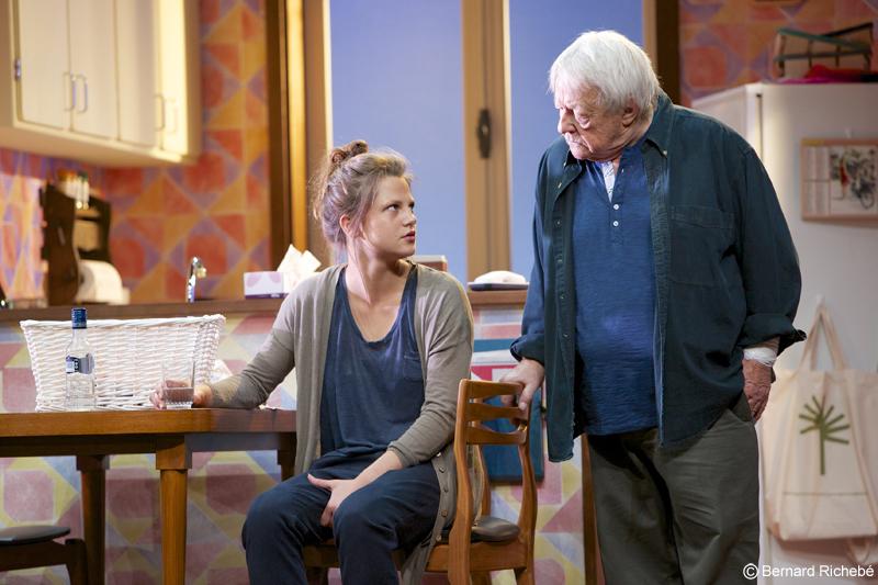 Constance (Claudia Dimier) et Henri (Roger Dumas)