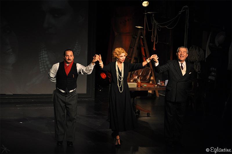 Pièce The Guitrys, avec Claire Keim, Martin Lamotte et Sylvain Katan