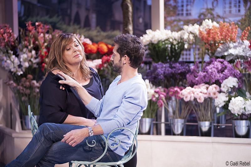 Michèle Bernier et Frédéric Diefenthal interprètent les rôles principaux de cette comédie romantique