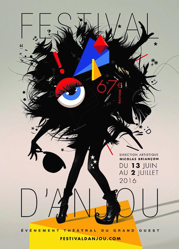 Affiche festival d'Anjou 2016