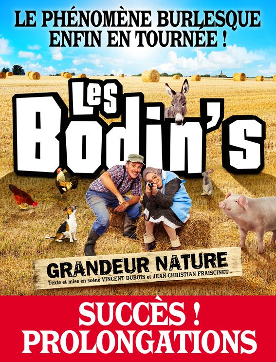 Affiche Les Bodin's grandeur nature