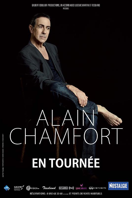 Affiche Alain Chamfort tournée