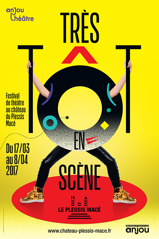 Affiche du festival Très tôt en scène - édition 2017