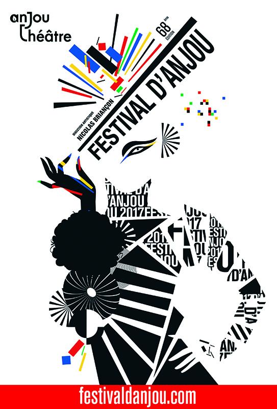 Affiche Festival d'Anjou 2017