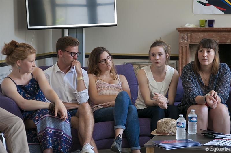 Jury jeunes au concours des compagnies du Festival d'Anjou 2017