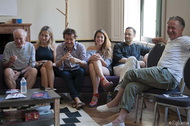 Jury professionnel au concours des compagnies du Festival d'Anjou 2017