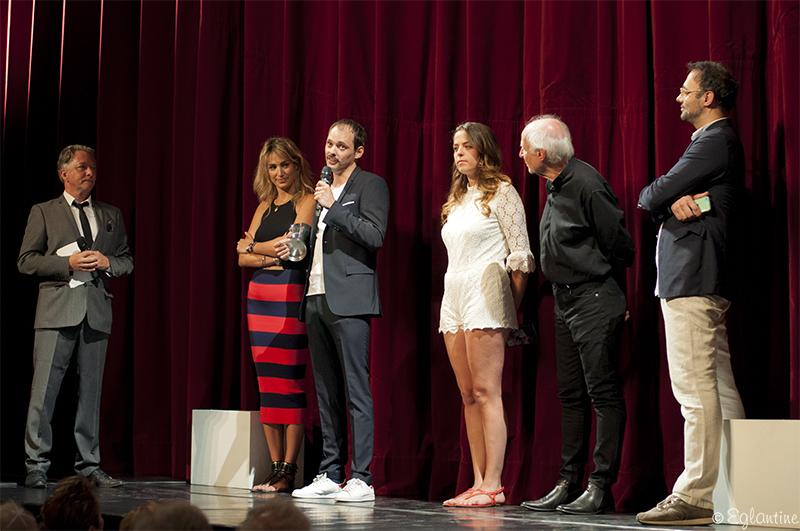 Etienne Launay, prix d'interprétation au concours des Compagnies du festival d'Anjou 2017