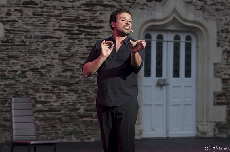 Bruno Salomone au festival d'Anjou 2017