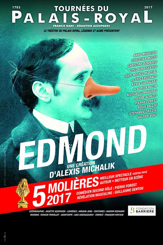 Pièce Edmond, d'Alexis Michalik