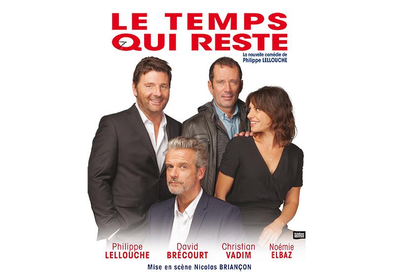 """Affiche """"Le temps qui reste"""" de Philippe Lellouche"""