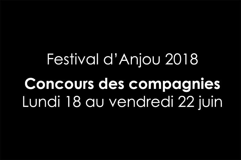 Annonce jury festival d'Anjou 2018