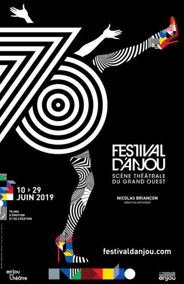 Affiche festival d'Anjou 2019